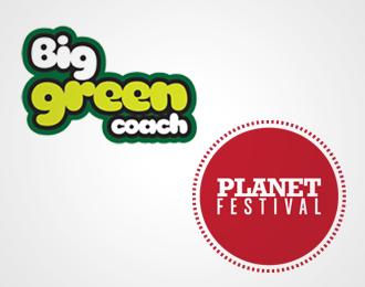BIG GREEN COACH PLANET FESTIVAL